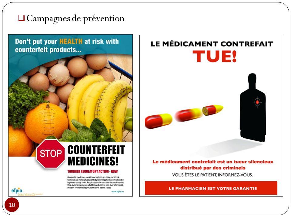 Campagnes de prévention 18