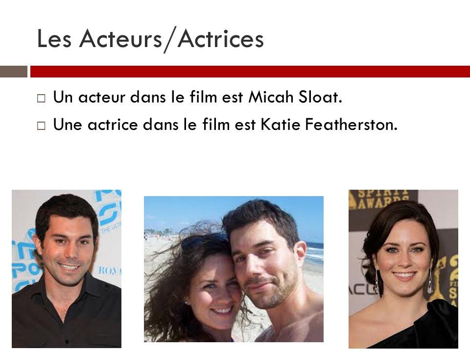 Les Acteurs/Actrices Un acteur dans le film est Micah Sloat. Une actrice dans le film est Katie Featherston.