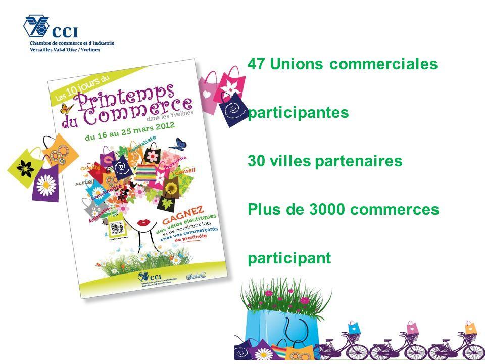 Un franc succès pour cette 1 ère édition de lopération « les 10 jours du printemps du commerce dans les Yvelines » Du 16 au 25 mars 2012