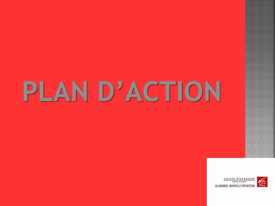 Couleurs utilisées : rouge, grise et blanche. Utilisation du bloc-marque dans nos affiches et pages publicitaires pour signifier le nouveau positionne