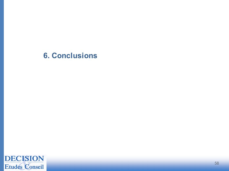 58 6. Conclusions