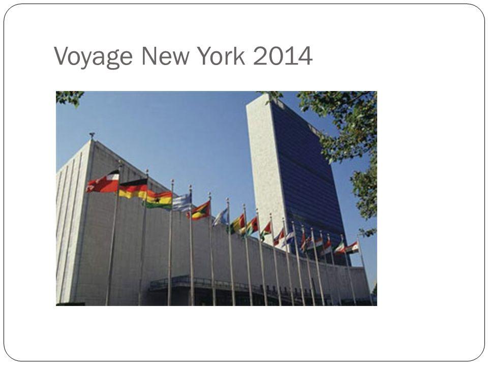 Voyage New York 2014