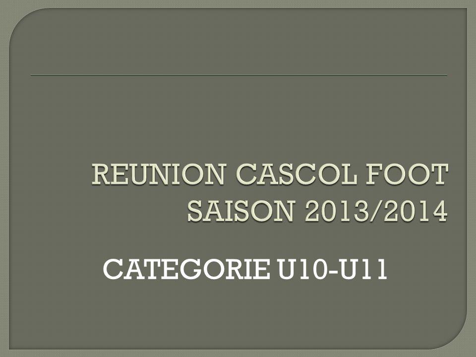 CATEGORIE U10-U11