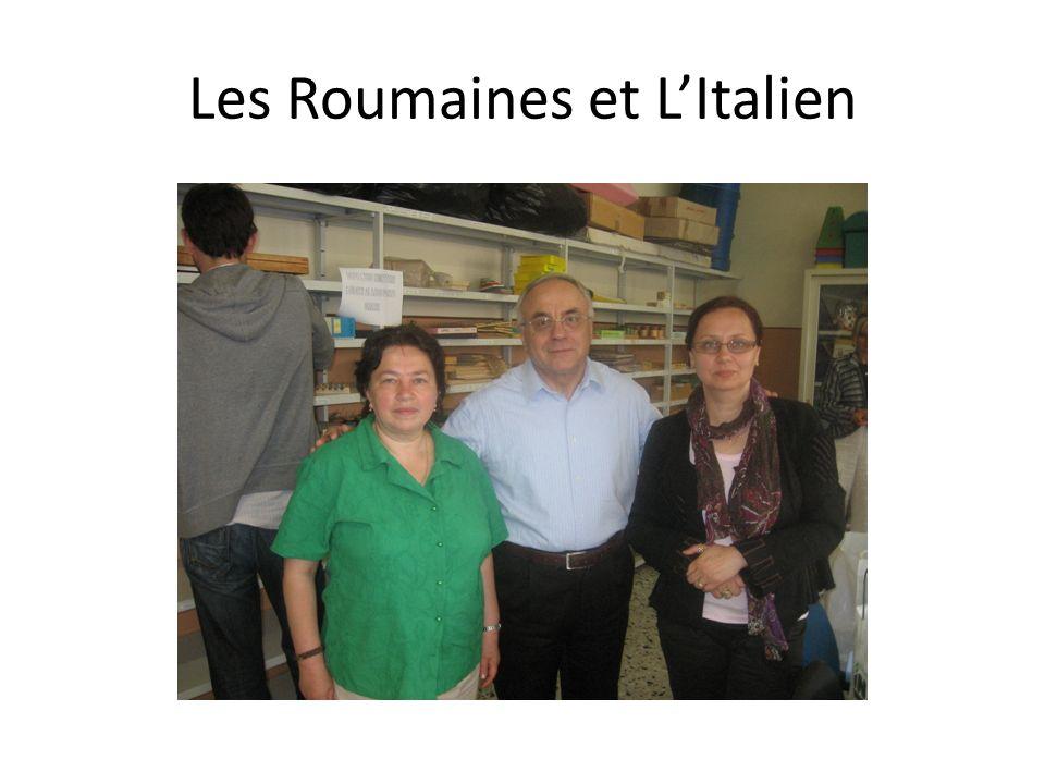 Les Roumaines et LItalien