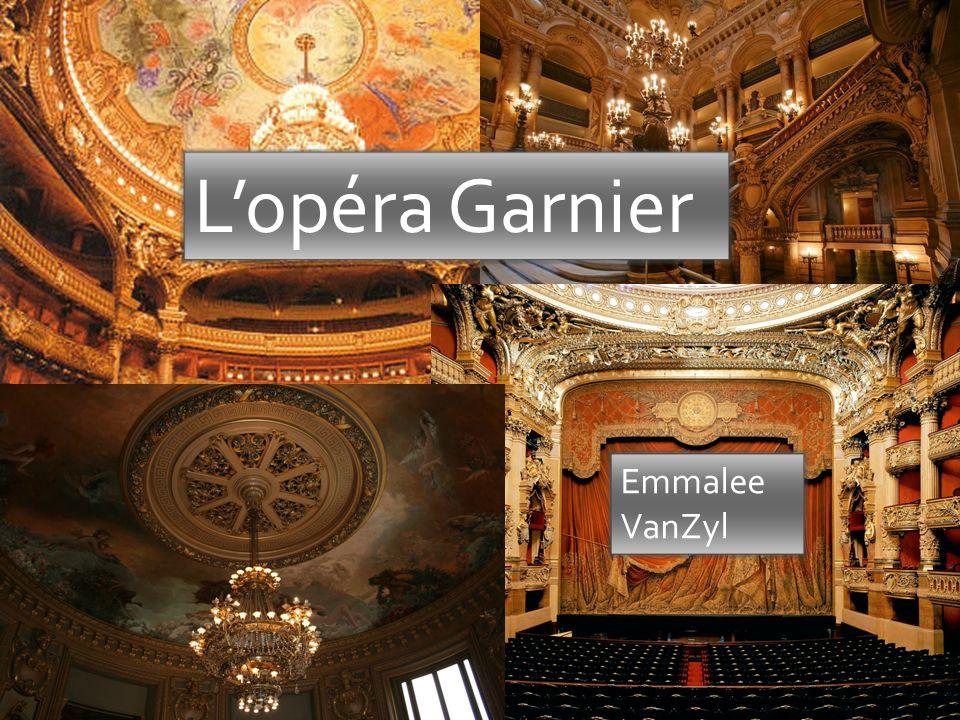 Lopéra Garnier Emmalee VanZyl