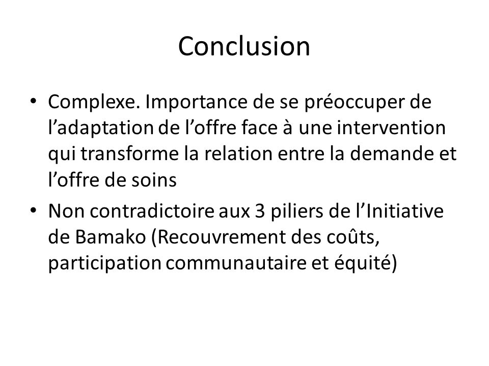 Conclusion Complexe.