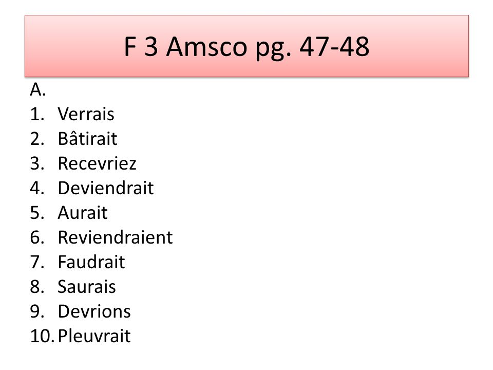 F 3 Amsco pg. 47-48 A.