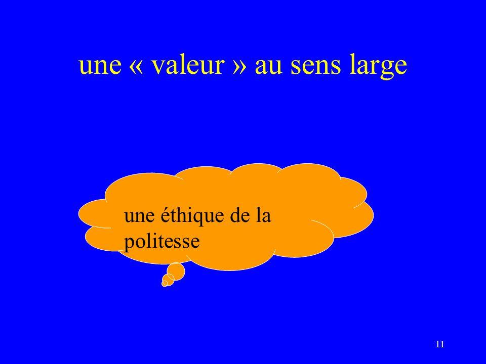 une éthique… De la créativité De linvention De lécart positif Du renouveau Du courage De lenraciné Du crédible… 12