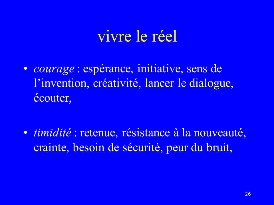 alors, les valeurs… servent dalibi : culpabilisation, infantilisation, sens de lobligation, surmoi,… sont des ressources motrices : ouverture dun horizon, dégagent une perspective, animent une pratique,….