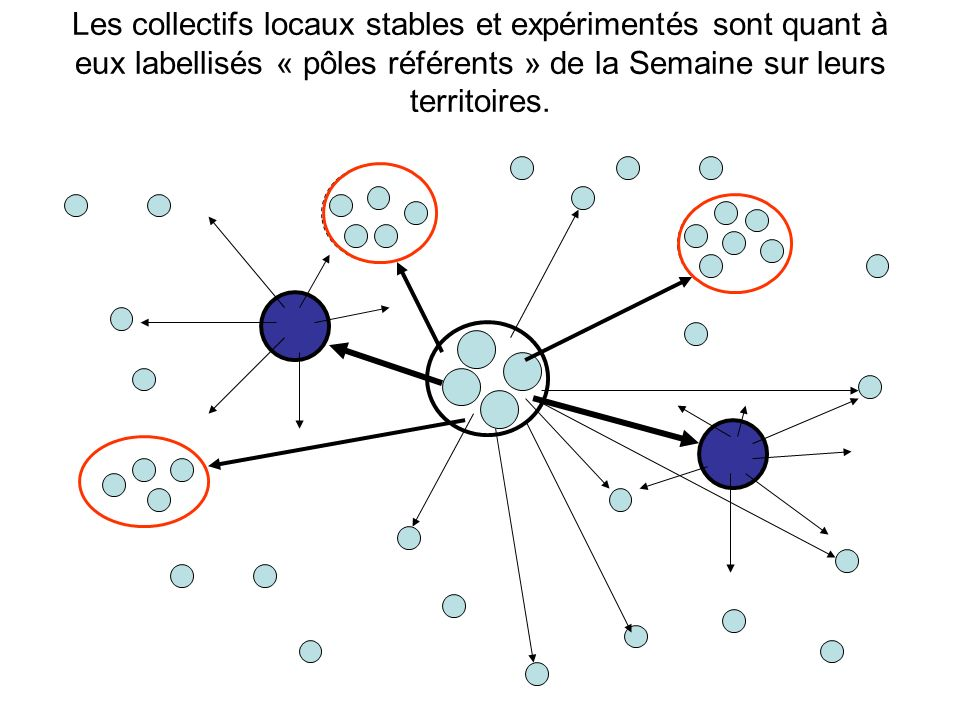 Principes de la structuration du réseau : CORAS Pôle référent COPIL national ouverture, légitimité territoriale, cas par cas et subsidiarité Pôle référent