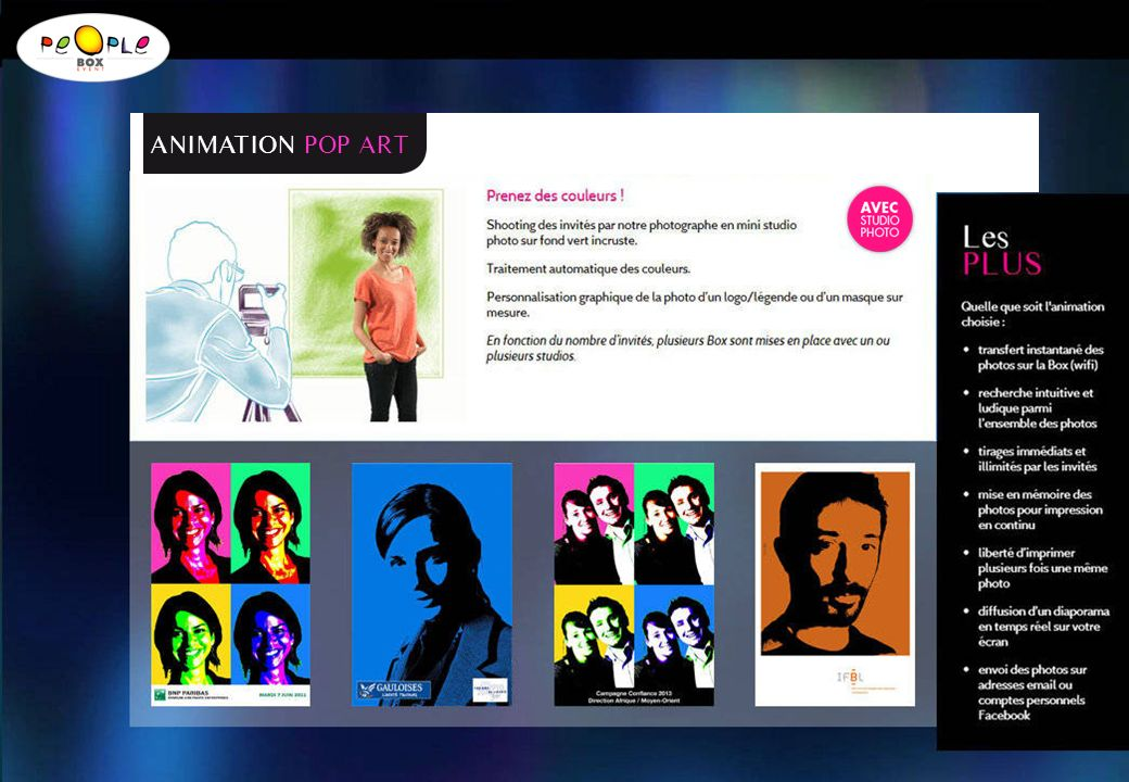 ANIMATION POP ART
