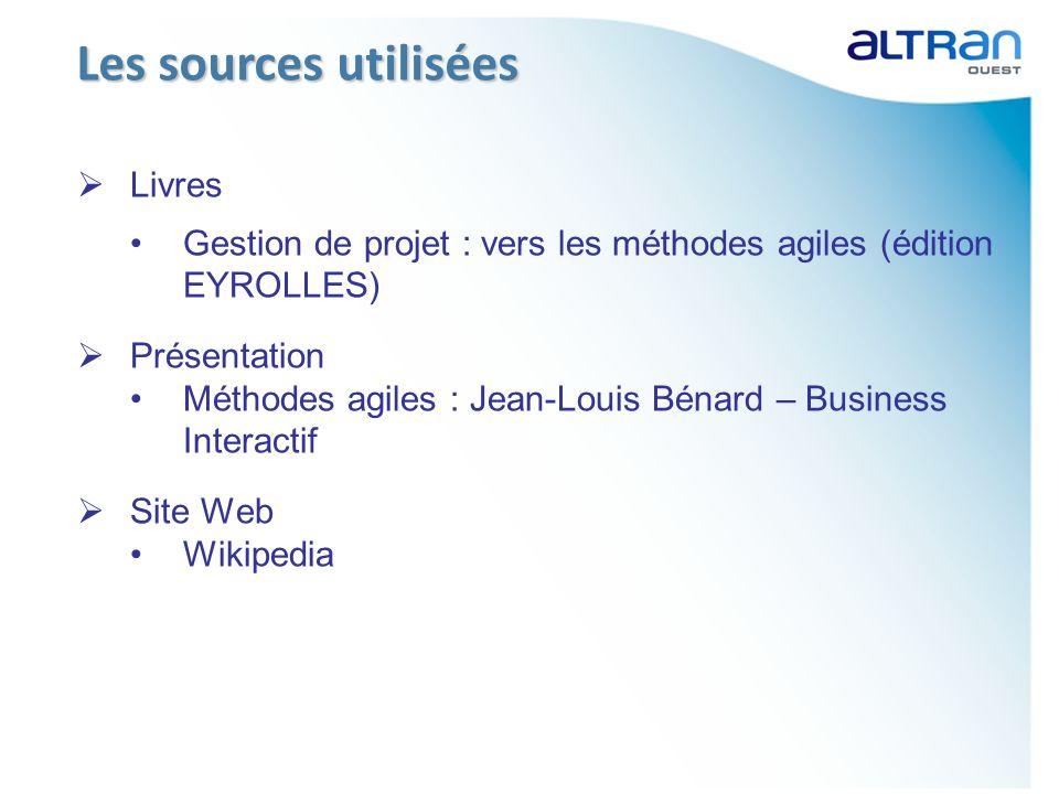Livres Gestion de projet : vers les méthodes agiles (édition EYROLLES) Présentation Méthodes agiles : Jean-Louis Bénard – Business Interactif Site Web