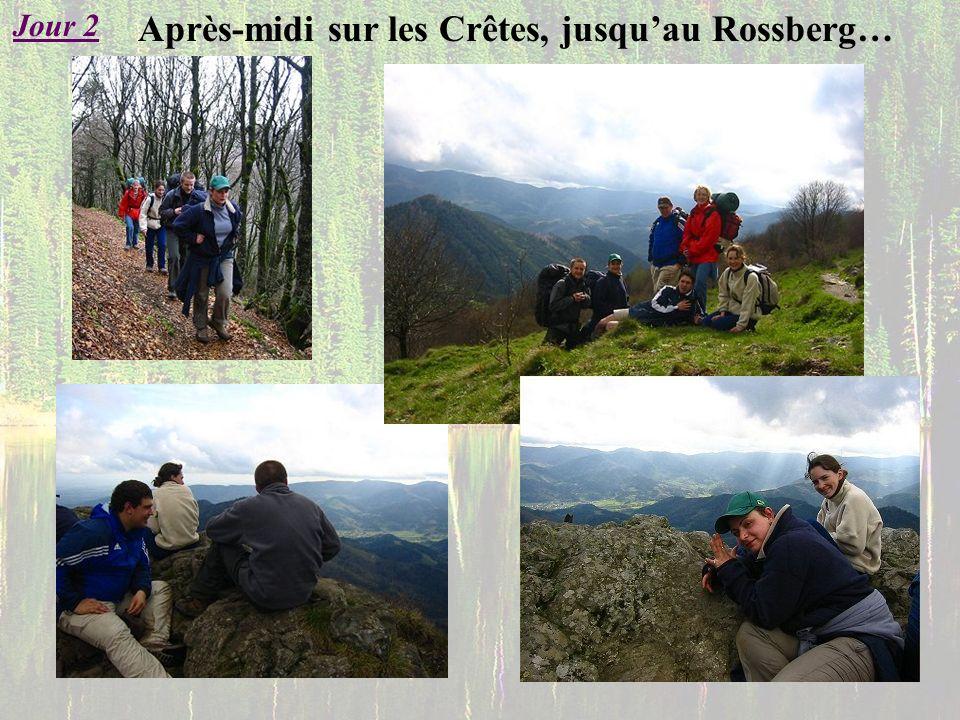 Après-midi sur les Crêtes, jusquau Rossberg… Jour 2