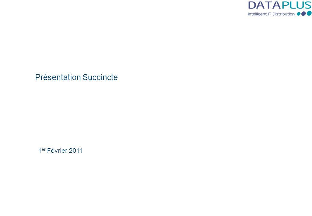 Présentation Succincte 1 er Février 2011