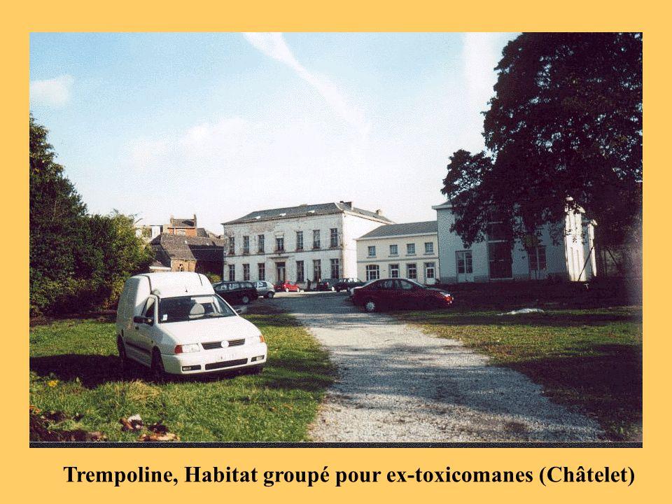 Trempoline, Habitat groupé pour ex-toxicomanes (Châtelet)