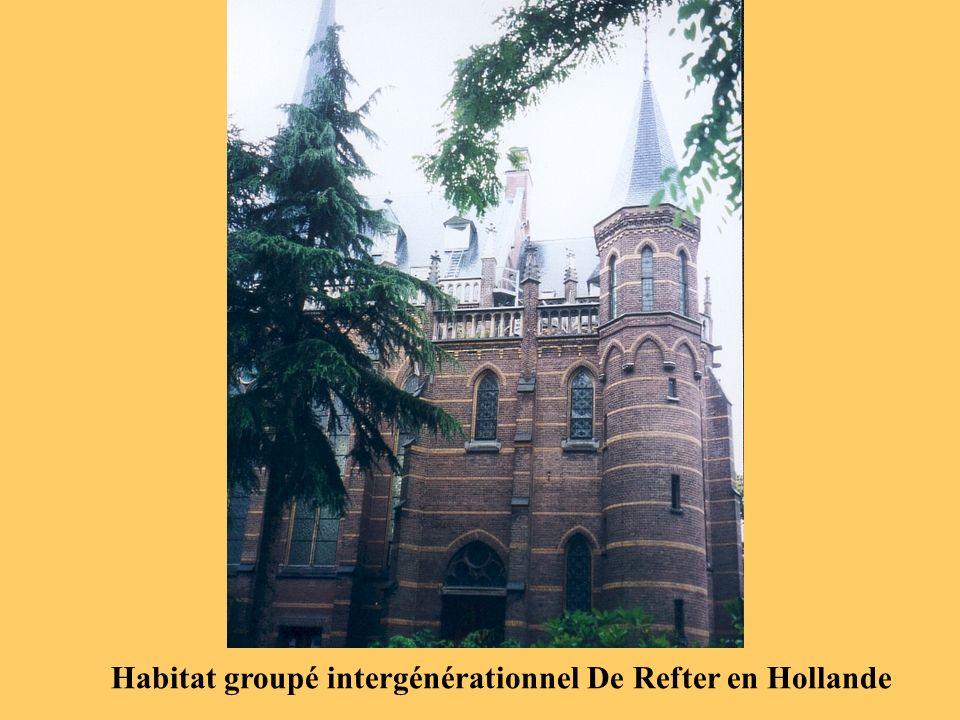 Habitat groupé intergénérationnel De Refter en Hollande