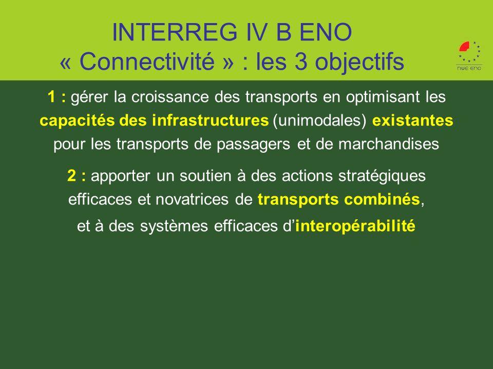 1 : gérer la croissance des transports en optimisant les capacités des infrastructures (unimodales) existantes pour les transports de passagers et de