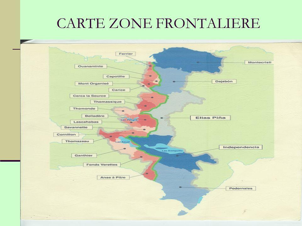 CARTE ZONE FRONTALIERE