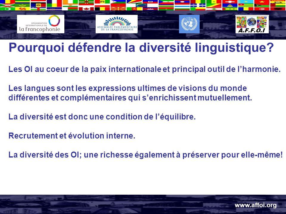 Pourquoi défendre la diversité linguistique.