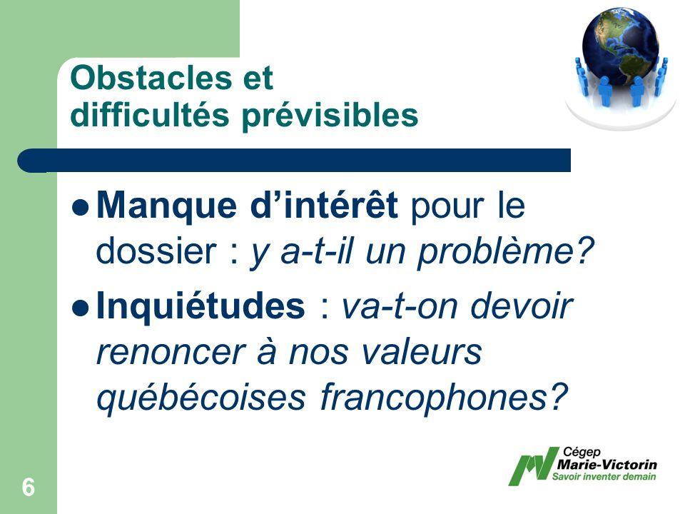 Les principes fondateurs dune politique interculturelle Nous avons donc tous été appelés à adhérer à certains principes fondateurs de léducation interculturelle dans le contexte dun cégep montréalais et essentiellement francophone.
