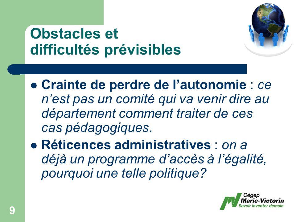 Promotion active de la langue française, de la laïcité des institutions de lÉtat, de légalité entre les sexes et de la tolérance Moyens généraux à prévoir 50