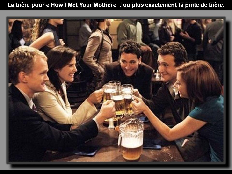 La bière pour « How I Met Your Mother« : ou plus exactement la pinte de bière.