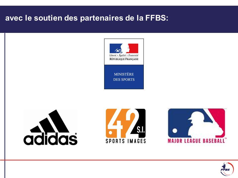 avec le soutien des partenaires de la FFBS: