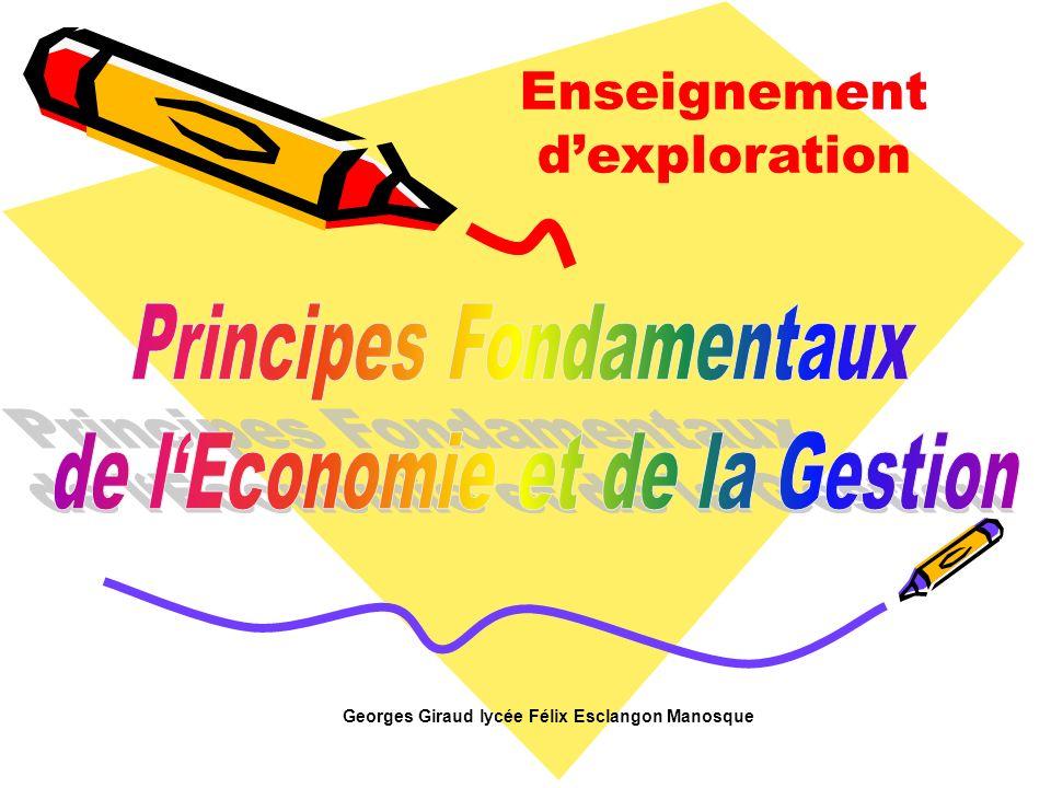 Enseignement dexploration Georges Giraud lycée Félix Esclangon Manosque