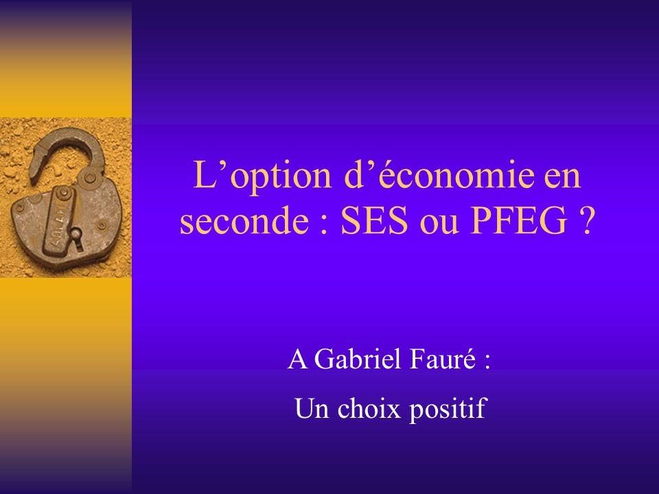 ProgrammeProgramme PFEG Comment intégrer le développement durable dans la production .