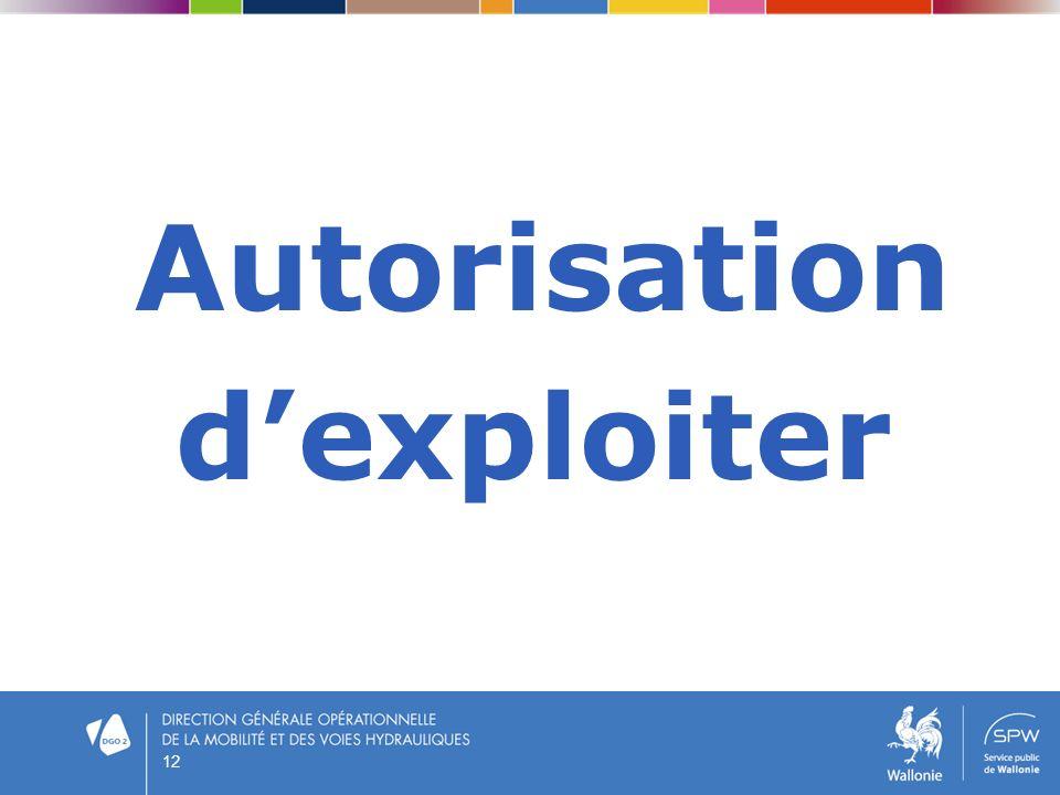 Autorisation dexploiter 12