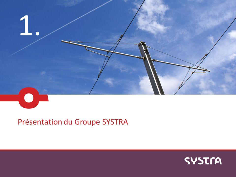 Leader mondial de lingénierie des infrastructures de transport public 1957 création de SOFRERAIL par la SNCF 1961 création de SOFRETU par la RATP 1995 création de SYSTRA par la fusion des 2 sociétés 2012 INEXIA et XELIS rejoignent SYSTRA pour renforcer la puissance du groupe Page 4SYSTRA: mise en place d une plateforme SIG collaborative Plus de 50 ans dexpérience dans les transports publics: Chiffres clés: 100% des Lignes à Grande Vitesse (LGV) en France 50% des LGV dans le monde 1 ligne de métro sur 2 dans le monde Record mondial des lignes de tramway construites: 400 km Chiffres clés: 100% des Lignes à Grande Vitesse (LGV) en France 50% des LGV dans le monde 1 ligne de métro sur 2 dans le monde Record mondial des lignes de tramway construites: 400 km