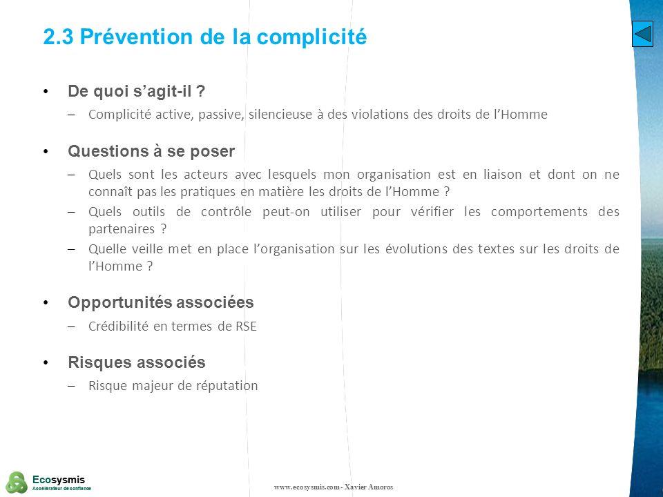 27 Ecosysmis Accélérateur de confiance Ecosysmis Accélérateur de confiance 6.2 Protection de la santé et de la sécurité des consommateurs De quoi sagit-il .