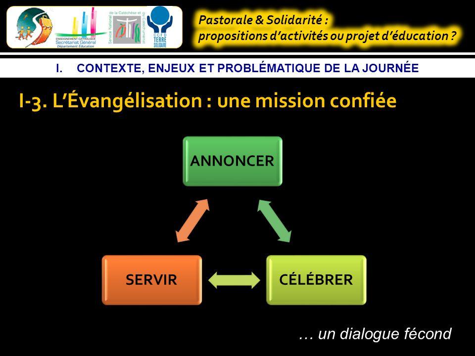 I.CONTEXTE, ENJEUX ET PROBLÉMATIQUE DE LA JOURNÉE I-3.