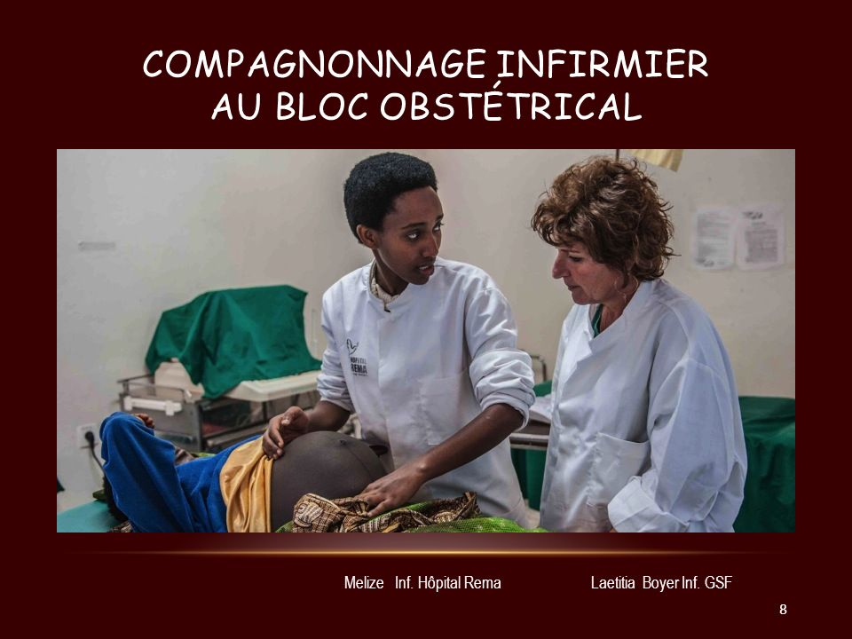COMPAGNONNAGE INFIRMIER AU BLOC CHIRURGICAL Nicole Bernis Inf.