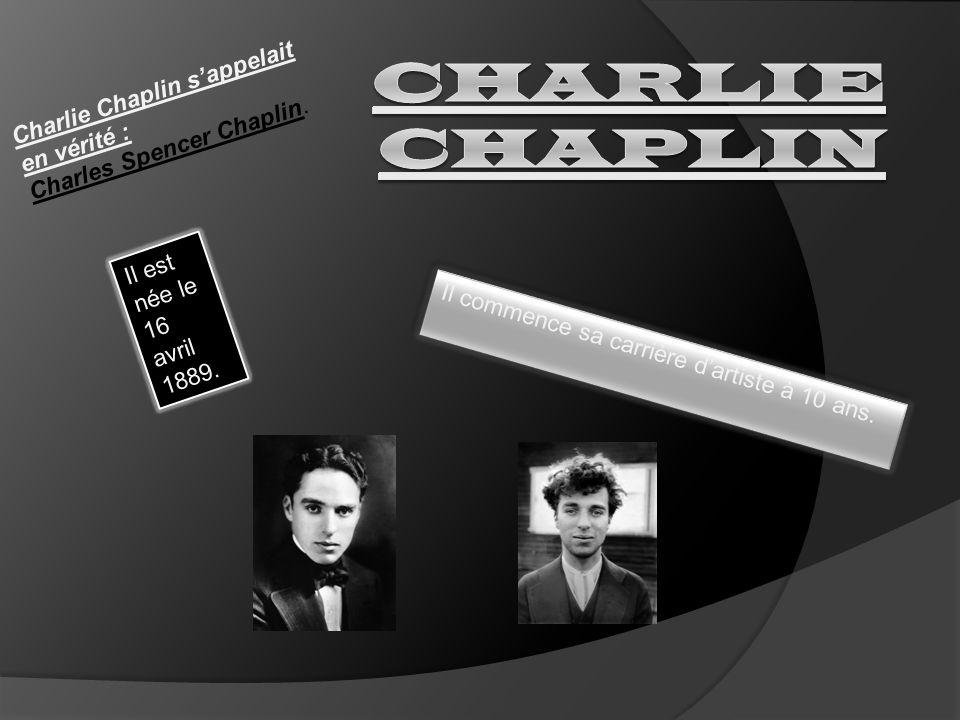 Charlie Chaplin a inventé un langage universel, la pantomime.