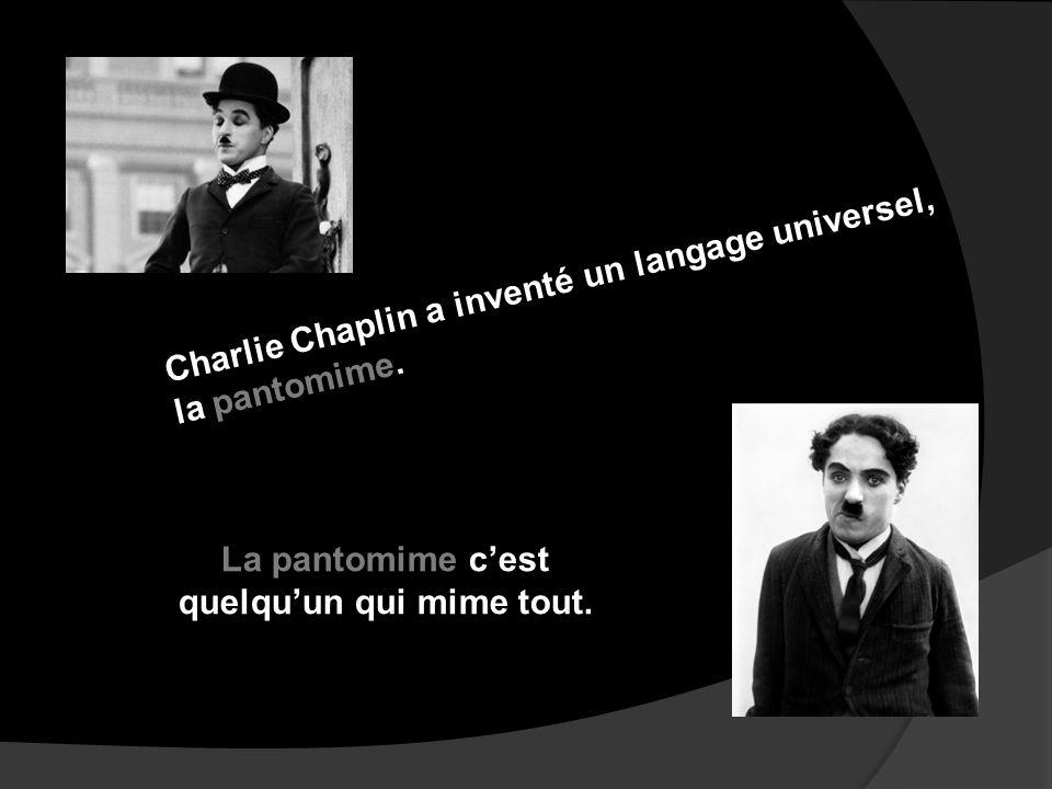Charlie Chaplin: ses premiers films parlant. Charlie Chaplin a développé des talents : - son jeu dacteur - son art de la comédie - sa créativité burle