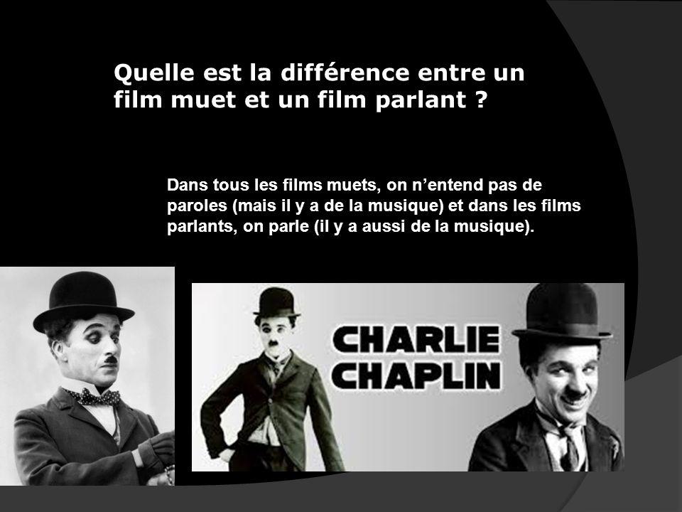 Charlie Chaplin a inventé un langage universel, la pantomime. La pantomime cest quelquun qui mime tout. Quest-ce que ça veut dire ?