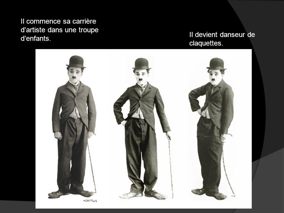 Charlie Chaplin aura dans son enfance des conditions de vie difficiles car il va vivre dans des conditions dextrême pauvreté. Il va vivre comme un ind