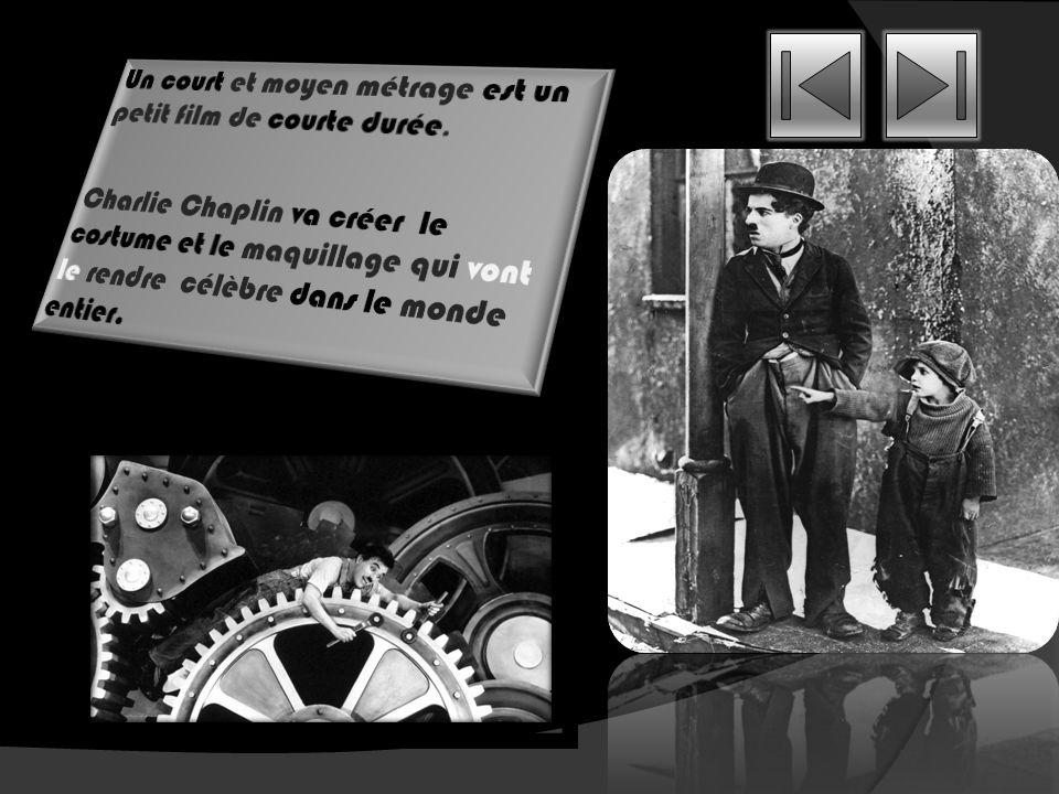 Ses premiers rôles au cinéma: Charlie Chaplin va faire ses débuts au cinéma fin 1913. Mack Sennett est le réalisateur de film qui va lui faire faire s