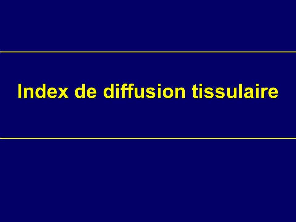 Index de diffusion tissulaire