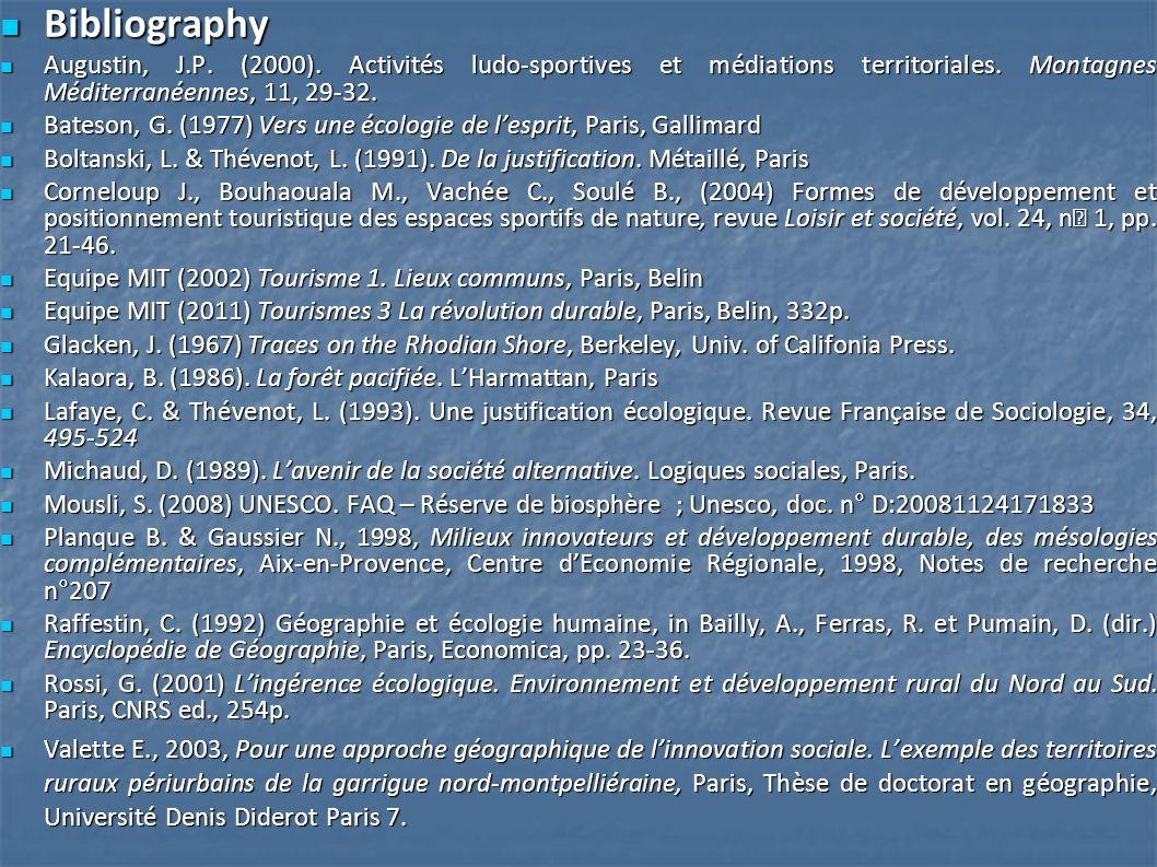 Bibliography Bibliography Augustin, J.P. (2000).