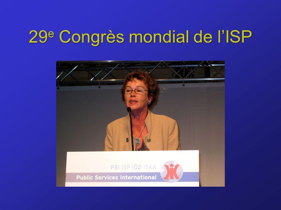 29 e Congrès mondial de lISP