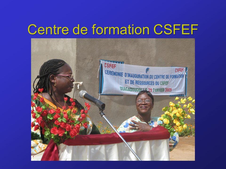 Centre de formation CSFEF