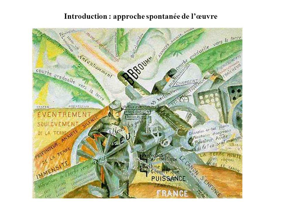 Introduction : approche spontanée de lœuvre
