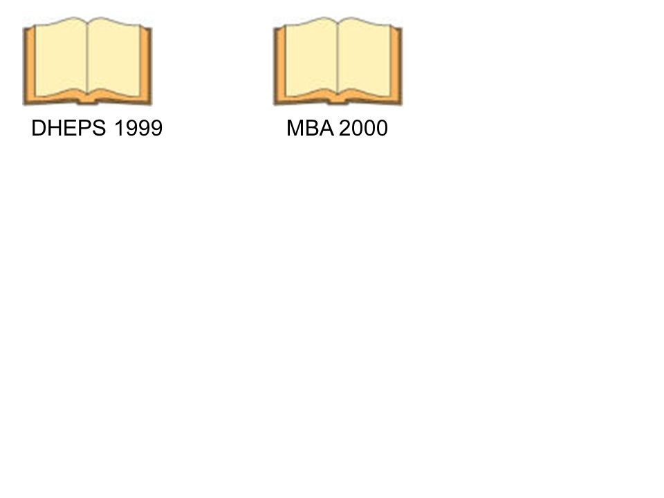 DHEPS 1999MBA 2000 Cursus