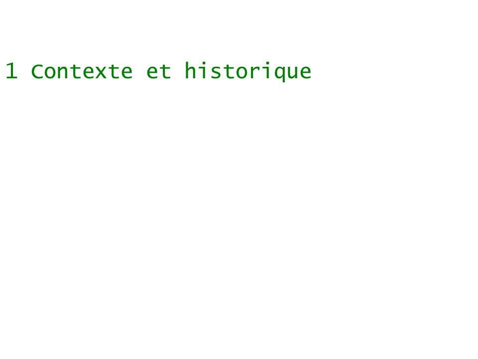 Sommaire 1 Contexte et historique