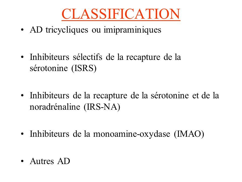Précautions demploi et rôle infirmier : -surveiller fonctions hépatiques et rénales -surveiller la TA -prudence chez les épileptiques -déconseillé pendant la grossesse et lallaitement Contre-Indications : -HTA -Phéochromocytome -Atteinte hépatique -Agitation maniaque -Alcoolisme chronique