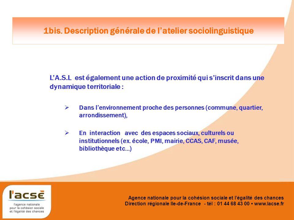 Agence nationale pour la cohésion sociale et légalité des chances 2.