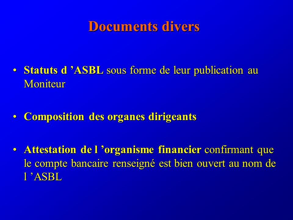 Documents par axe d action Structure générale (suite) (3.
