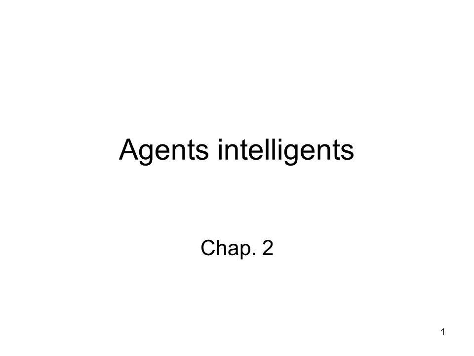 Plan Agents et environnements Rationalité PEAS (Performance measure, Environment, Actuators, Sensors) Types denvironnement Types dagent 2